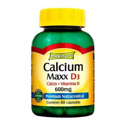 Imagem 1 do produto Calcium Maxx D3 60cps - Maxinutri - 60Cps