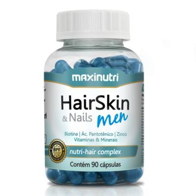 Imagem 1 do produto Hair Skin & Nails Men 90cps - Maxinutri - 90Cps
