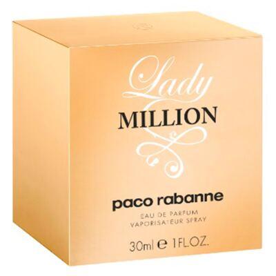 Imagem 2 do produto Lady Million Paco Rabanne - Perfume Feminino - Eau de Parfum - 30ml