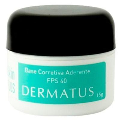 Imagem 2 do produto Skin Plus Base Corretiva Aderente FPS 40 Dermatus - Base Facial Corretiva - Cor C