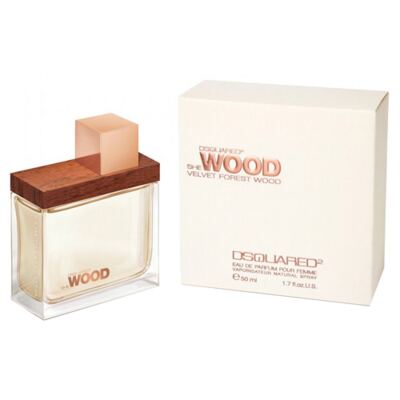 She Wood Velvet Forest Wood Dsquared - Perfume Feminino - Eau de Parfum - 50ml