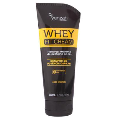 Yenzah Power Whey Fit Cream - Shampoo Reconstrutor - 200ml