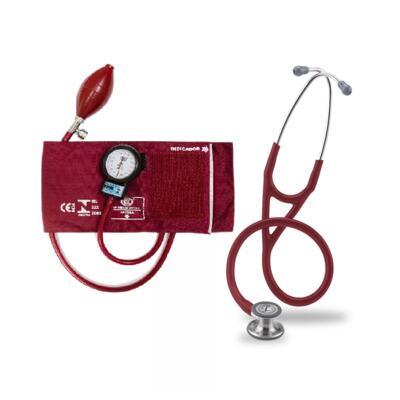 Imagem 5 do produto Kit Esteto Littmann Cardiology IV Vinho com Aparelho de Pressão Bic Vinho