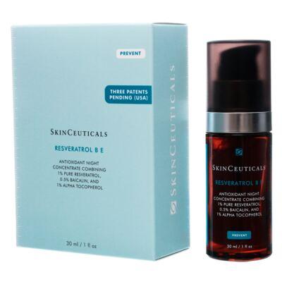 Imagem 3 do produto Resveratrol B E Antioxidante Night SkinCeuticals - Reparador Celular - 30ml
