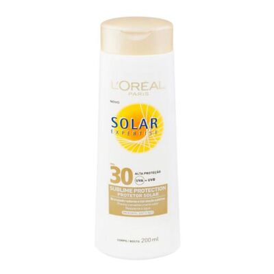 Protetor Solar L'Oréal Paris Solar Expertise Sublime Protection SPF 30 - 200ml