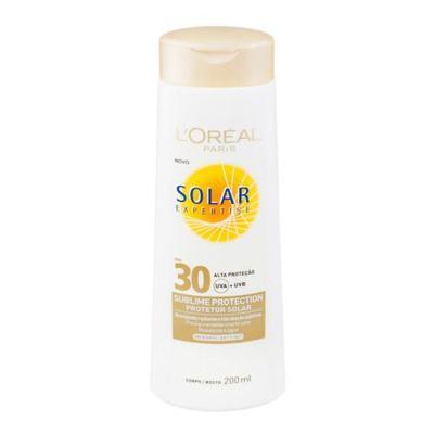 Imagem 1 do produto Protetor Solar L'Oréal Paris Solar Expertise Sublime Protection SPF 30 - 200ml
