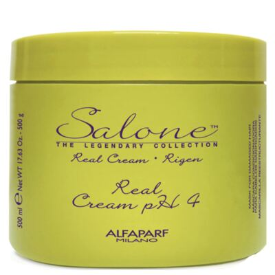 Imagem 1 do produto Alfaparf Salone Real Cream PH4 - Máscara Reestruturante - 500ml