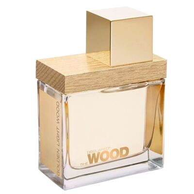 She Wood Golden Light Wood Dsquared - Perfume Feminino - Eau de Toilette - 50ml
