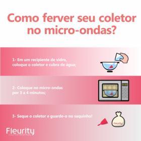 Coletor Menstrual Tipo 2 Fleurity - Cuidados Femininos - 2 Un