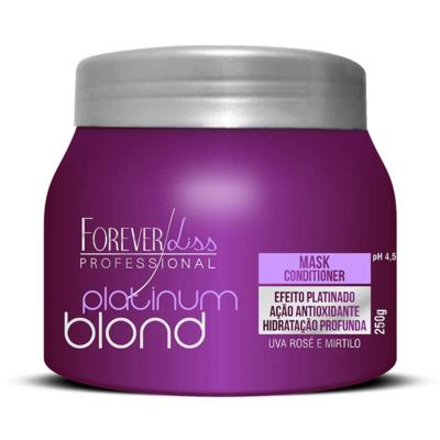Imagem 3 do produto Forever Liss Platinum Blond - Máscara Matizadora - 250g