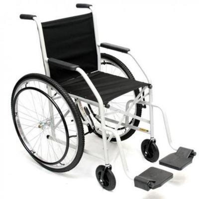 Imagem 1 do produto Cadeira de Rodas Cinza 102 CDS