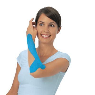 Imagem 2 do produto Leukotape 5 cm  X 5 m Azul Celeste BSN Medical - Leukotape 5 cm X 5 m Azul Celeste BSN Medical