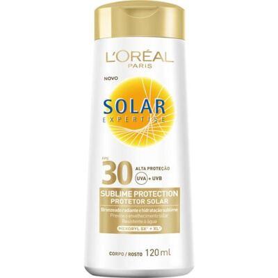 Imagem 1 do produto Protetor Solar L'Oréal Paris Solar Expertise Sublime Protection SPF 30 - 120ml