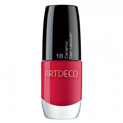 Ceramic Nail Lacquer Artdeco - Esmalte - 18 - Apple Red