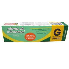 Creme Dermatológico CIMED Genérico Cimed - Nitrato de Miconazol 20mg/g | 28g