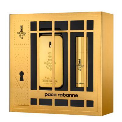 Imagem 1 do produto 1 Million Paco Rabanne - Masculino - Eau de Toilette - Perfume + Miniatura - Kit