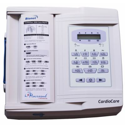 Imagem 1 do produto Eletrocardiógrafo CardioCare 2000 Bionet
