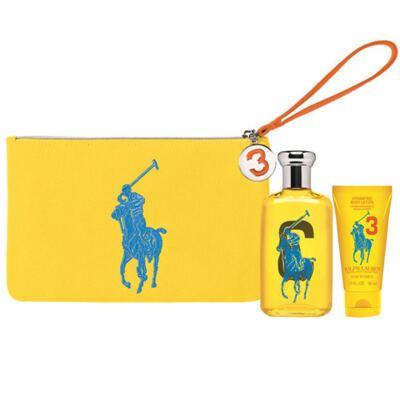 Polo Big Pony for Women Yellow Ralph Lauren - Feminino - Eau de Toilette - Perfume + Loção Corporal - Kit