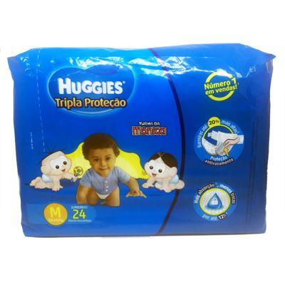 Imagem 1 do produto Fralda Huggies Turma da Mônica Tripla Proteção Jumbinho M 24un