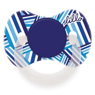 Chupeta Lillo Funny Estampas Silicone Tamanho 1 Azul
