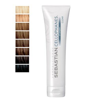 Cellophanes Sebastian 300ml - Tratamento para Cabelos Coloridos - Clear