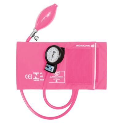 Imagem 1 do produto Kit Esteto Spirit Pro-Lite Rosa Perolizado com Aparelho de Pressão Bic Rosa