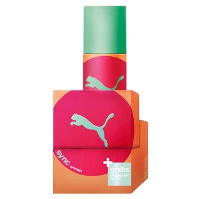 Imagem 2 do produto Sync For Women Puma - Feminino - Eau de Toilette - Perfume + Desodorante - Kit