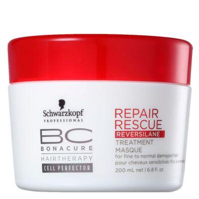 Schwarzkopf Professional BC Peptide Repair Rescue Deep Nourishing - Máscara de Nutrição Intensiva - 200ml