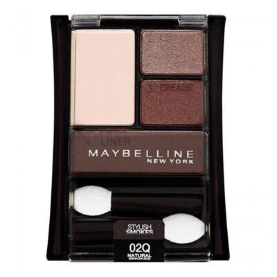Imagem 1 do produto Expert Wear Quad Maybelline - Paleta de Sombras - Natural Smokes