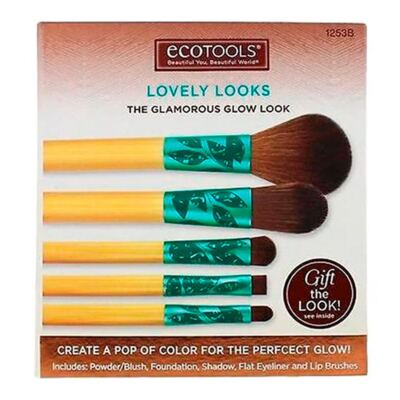 Imagem 3 do produto Lovely Looks Set Ecotools - Kit de Pincéis para Maquiagem - Kit