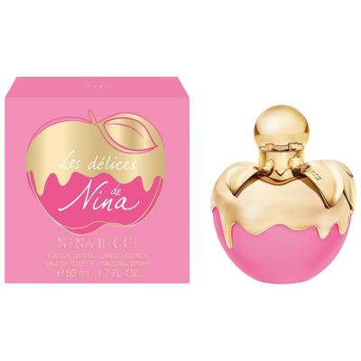Imagem 1 do produto Les Délices de Nina Ricci Feminino de Nina Ricci Eau de Toilette - 50ml