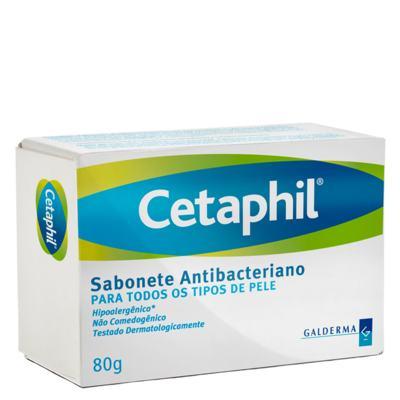 Cetaphil Sabonete Antibacteriano - Sabonete em Barra - 80g