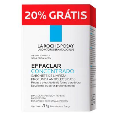 Sabonete Effaclar Concentrado La Roche-Posay - Limpador Facial - 70g