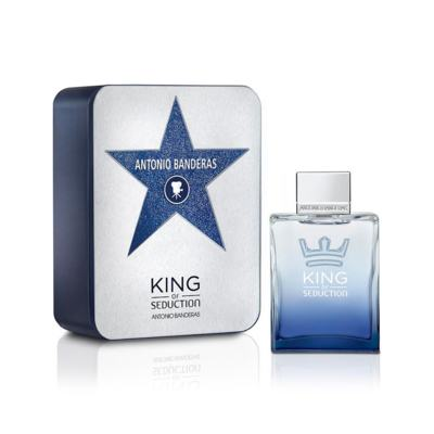 Imagem 1 do produto King Of Seduction Deluxe Metalbox de Antonio Banderas Masculino - 200 ml