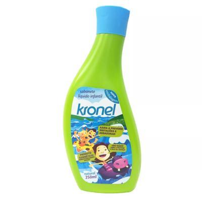 Sabonete Líquido Íntimo Kronel Infantil Natural 250ml