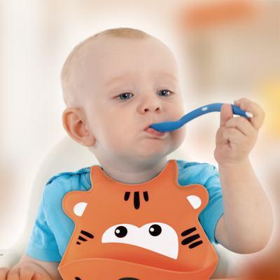 Imagem 2 do produto Babador De Silicone Silybib (Leão) Multikids Baby - BB042 - BB042