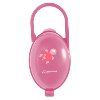 Imagem 1 do produto Porta Chupeta Rosa Multikids Baby - BB142 - BB142