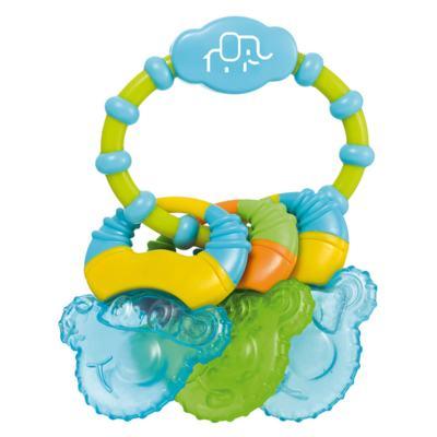 Imagem 1 do produto Mordedor Com Gel Cool Rings Azul Multikids Baby - BB150 - BB150