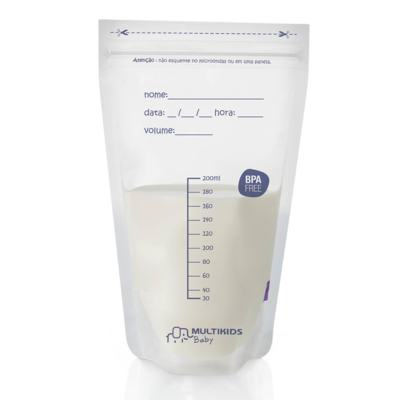 Sacos para Armazenar Leite Materno For Mom 25 Pcs Multikids Baby - BB189 - BB189