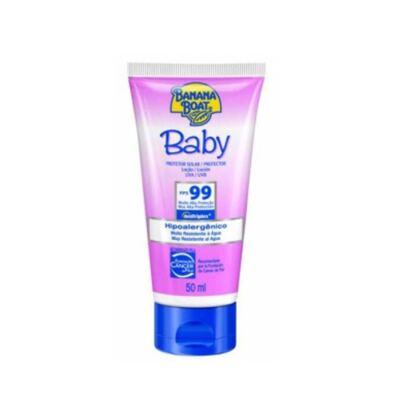 Imagem 1 do produto Protetor Solar Baby Banana Boat Loção Protetora Baby SPF 99 - 50ml