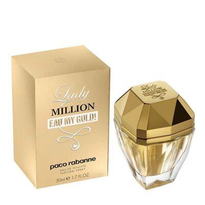 Imagem 3 do produto Lady Million Eau my Gold Paco Rabanne - Perfume Feminino - Eau de Toilette - 50ml
