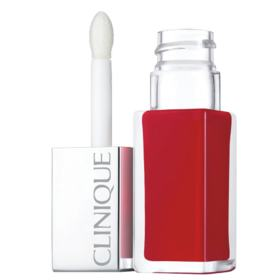 Pop Lacquer Lip Colour + Primer Clinique - Batom Líquido - Lava Pop