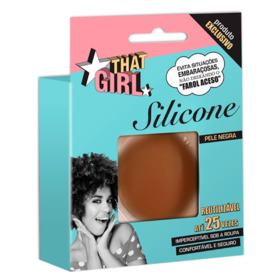 That Girl Silicone Pele Negra - Protetor Auto-Adesivo para os Seios - 1 Par
