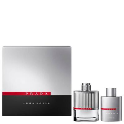 Imagem 1 do produto Prada Luna Rossa Prada - Masculino - Eau de Toilette - Perfume + Gel de Banho - Kit
