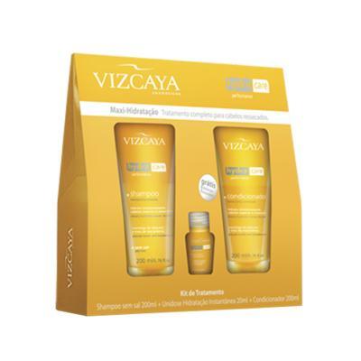 Imagem 1 do produto Kit Shampoo + Condicionador + Tratamento Vizcaya Hydra Care - Kit