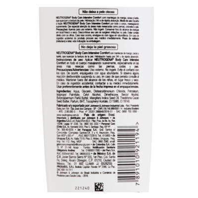 Imagem 3 do produto Hidratante Corporal Neutrogena Body Care Naturals - 200ml