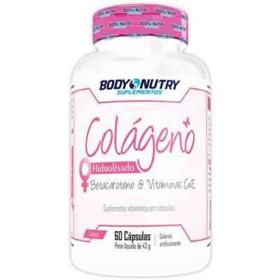 Imagem 1 do produto Colágeno + Betacaroteno 60Cps - Body Nutry - 60Cps
