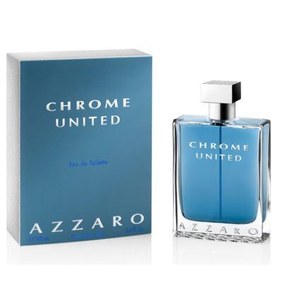 Imagem 1 do produto Azzaro Chrome United Eau De Toilette Masculino - 100 ml
