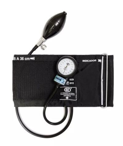 Imagem 6 do produto Kit Esteto Littmann Master Cardiology Preto Smoke Finish com Aparelho de Pressão Bic Preto - Kit Esteto Littmann Master Cardiology Preto com Aparelho de Pressão Bic Preto
