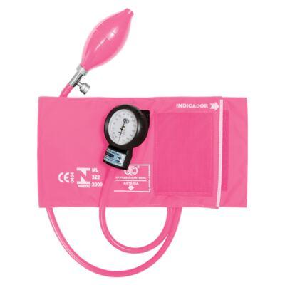 Imagem 1 do produto Kit Esteto Spirit Professional Rosa Perolizado com Aparelho de Pressão Bic Rosa